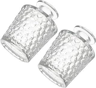Lurrose Glas Parfum Fles Glas Diffuser Fles 100Ml Hervulbare Essentiële Olie Container Voor Parfums Essentiële Oliën Ar...