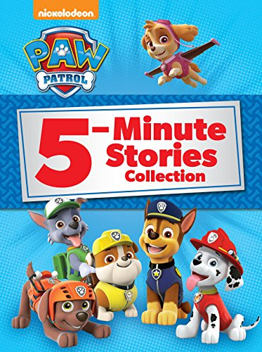 5-Minute Stories Hardcover Books: Paw Patrol $5, Star Wars $5.61, Mickey Mouse $5.18