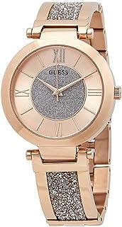 ساعة جيس 36 ملم مرصعة بالكريستال من سواروفسكي