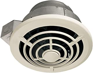 Broan-NuTone 8210 8 Vertical Discharge and 7-Inch Round Duct Ceiling Fan, 210CFM