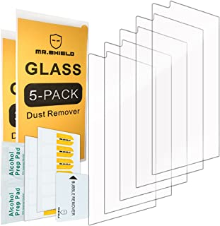 [5-Pack]- Mr.Shield for LG V10 [Tempered Glass] Screen Protector [0.3mm Ultra Thin 9H Hardness 2.5D Round Edge] with Lifetime Replacement