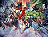 Avengers 2019 Wall Mural, Multicolore, 2, 4 m (H) x 3 M (L)