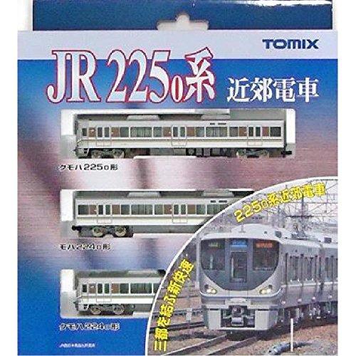 J.R. Suburban Train Series 225-0 (Basic A 3-Car Set) (Model Train)
