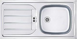 Franke Euroset ESN 614 Nova Edelstahl-Spüle Einbauspüle Küchenspüle Spülbecken