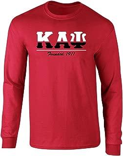 Kappa Alpha Psi Graphic Print Long Sleeve T Shirt