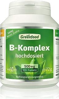 B-Komplex 50, hochdosiert, 120 Kapseln – alle Vitamine der B-Gruppe. Für einen klaren..