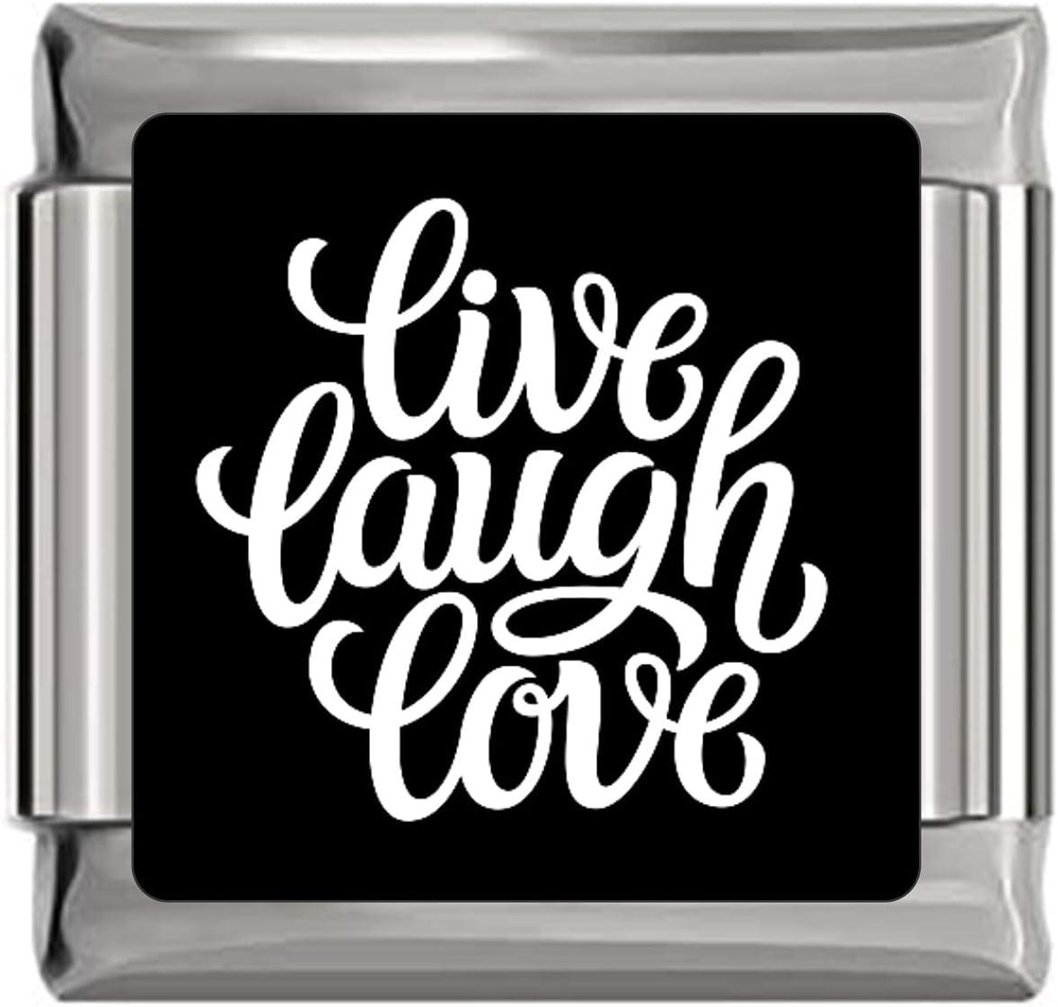 Live Laugh Love unisex Spring new work Charm Italian