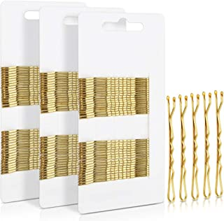 Bobby Pins,FANDAMEI 2.2 Inch Metal Hair Pins for Hair Decoration Gold (100 Count )