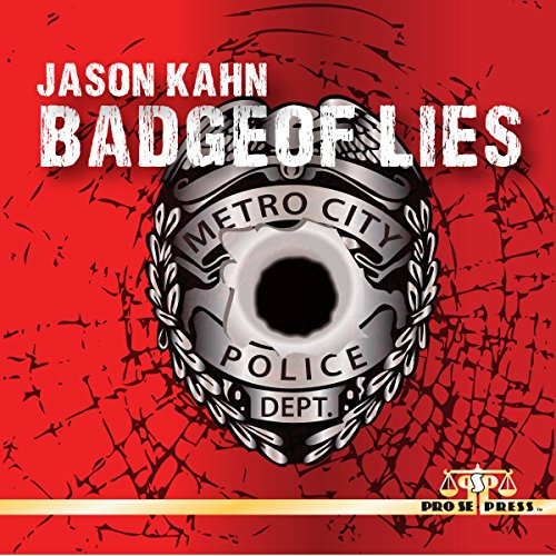 Badge of Lies audiobook cover art