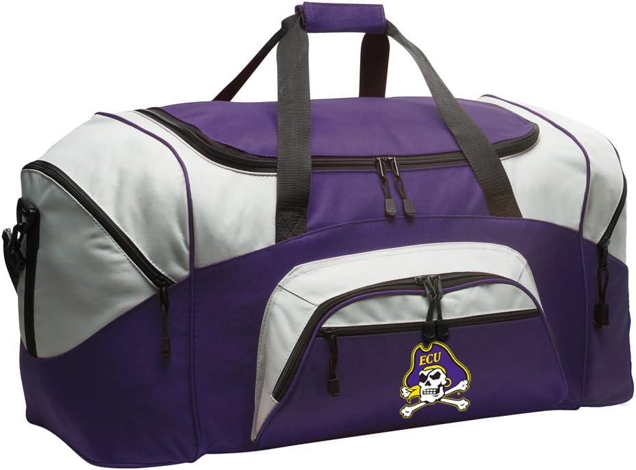 East Carolina University Duffle Bag Purple ECU Choice Gym Houston Mall Bags