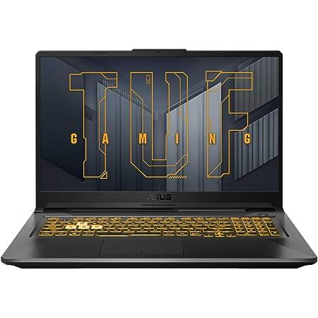 """ASUS TUF Gaming A17 FA706QM-HX001 - Portátil Gaming de 17.3"""" Full HD 144Hz (Ryzen 7 5800H, 16GB RAM, 1TB SSD, GeForce RTX 3060 6GB, Sin Sistema Operativo) Gris Eclipse - Teclado QWERTY español"""