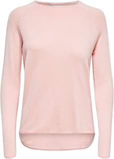 ONLY dames Onlmila Lacy L/S Knt Noos Pullover