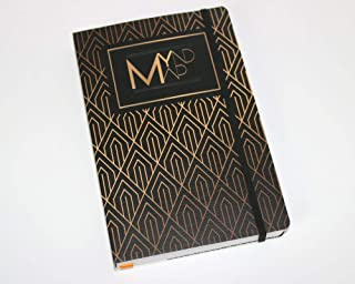 MYnd Map My Journal Limited Edition - The Ultimate 90 Days Productivity and Mindfulness Journal, Undated Monthly, Week & D...