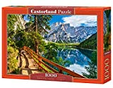 Castorland CSC104109 Braies Lake, Italy, 1000 Teile Puzzle, Bunt -
