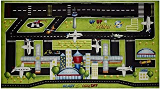 Wilmington Prints Ready for Takeoff Playmat 25in Panel Multi Fabric