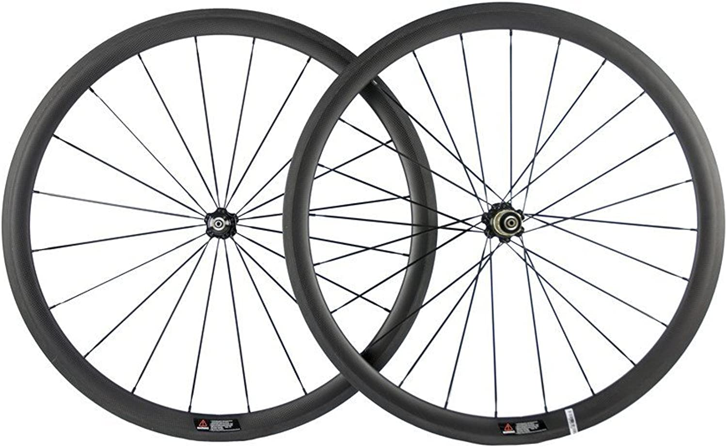 Sunrise Bike 38mm Clincher Carbon Wheel 23mm Width Carbon Wheelset with Matte Finish