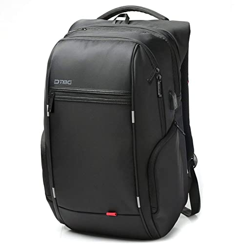 cf69cf01919 DTBG Nylon 15.6-Inches Waterproof with USB Charging Port Laptop Backpack