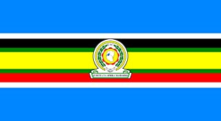 magFlags Large Flag East African Community | Landscape Flag | 1.35m² | 14.5sqft | 85x160cm | 35x60inch - 100% Made in Germany - Long Lasting Outdoor Flag