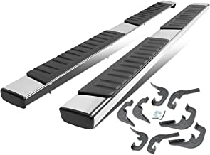 6 inches Stainless Steel OE Style Side Step Nerf Bar Running Board for Chevy Silverado GMC Sierra Crew Cab 07-18