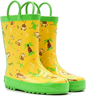 Mucky Wear Children's Rubber Rain Boot, Outdoor Kids Boots