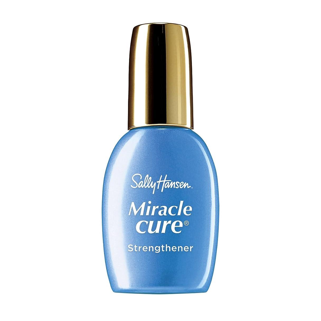 低い平らにする弾力性のあるSALLY HANSEN Miracle Cure (並行輸入品)