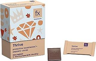 Fx Chocolate Thrive - Keto Dark Chocolate - Vitamin E Dark Chocolate with Organic Cacao + Annatto Tocotrienols to Support ...