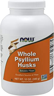 Now Foods Whole Psyllium Husks, 340g