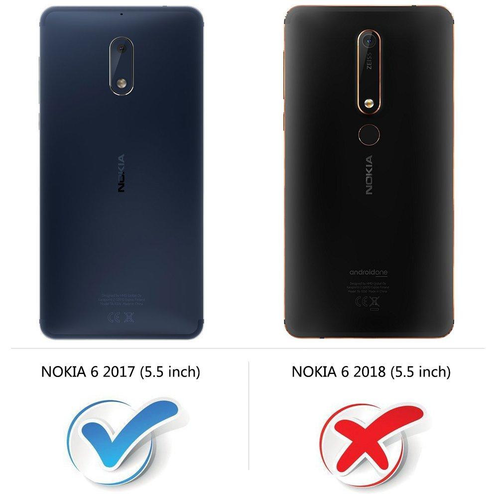 MOBESV Funda para Nokia 6, Funda Libro Nokia 6, Funda Móvil Nokia ...