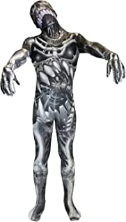 Morphsuits Kids Skull & Bones Monster Costume - Small 3'-3'5 / 6-8 Years