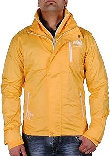 Crosshatch Leeston Zip Detail Jacket
