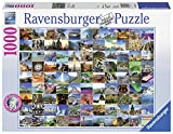 Ravensburger Puzzle 19371 - 99 Beautiful Places on Earth - 1000 Teile -