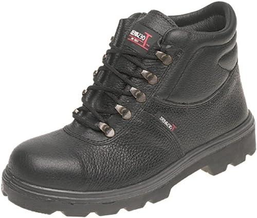 Toesavers , Chaussures de sécurité pour homme Noir noir