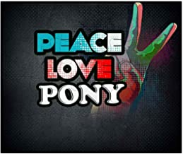 Makoroni - Peace Love Pony - Jigsaw Puzzle, 30 pcs.