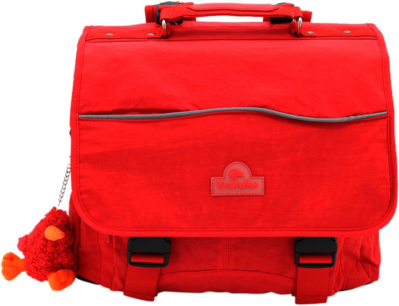 Kiwiwho CA8017 Schulranzen, 39 cm, red (red)