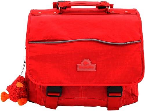 Kiwiwho CA8017 Schulranzen, 39 cm, Rot (rot)