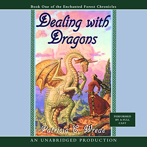 Dealing with Dragons audiobook cover art
