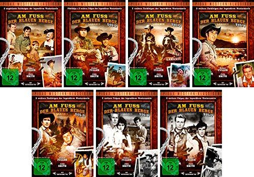 Am Fuß der blauen Berge - Vol. 1 + 2 +3 + 4 + 5 + 6 + 7 Gesamtedition (Laramie) / 21 Folgen auf 7 DVDs (Pidax Western-Klassiker)