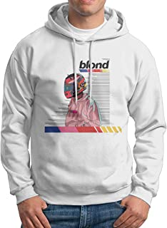 Blond Frank Ocean Unisex Hoodie Pullover Print Pattern Fashion Sweatshirt Sportswear Hoodies XXL White