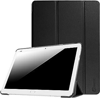 Fintie SlimShell Funda para Huawei MediaPad M3 Lite 10 - Súper Delgada y Ligera Carcasa con Función de Soporte y Auto-Reposo/Activación para 10.1 Pulgadas IPS FullHD, Negro
