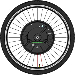 comprar comparacion Kit de conversión de rueda delantera Kit de conversión de bicicleta eléctrica de 26 pulgadas La batería 3.0 se puede alime...