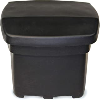 FCMP Outdoor SB140-BLK Outdoor Storage Bin, Black