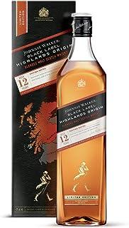 Johnnie Walker BLACK LABEL 12 Years Old SPEYSIDE ORIGIN Limited Edition Whisky 1 x 1 l