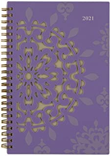 "2021 Weekly & Monthly Planner by Cambridge, 5-1/2"" x 8-1/2"", Small, Vienna (122-200-21)"