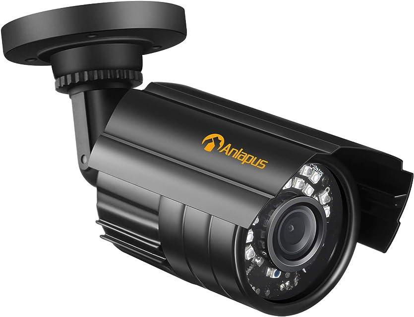 Anlapus 1080P Cámara de Vigilancia Exterior para CCTV Sistema de Seguridad