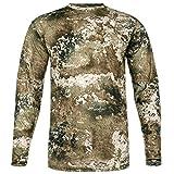 Camo Hunting Shirt: All Season Odor and Insect Protection