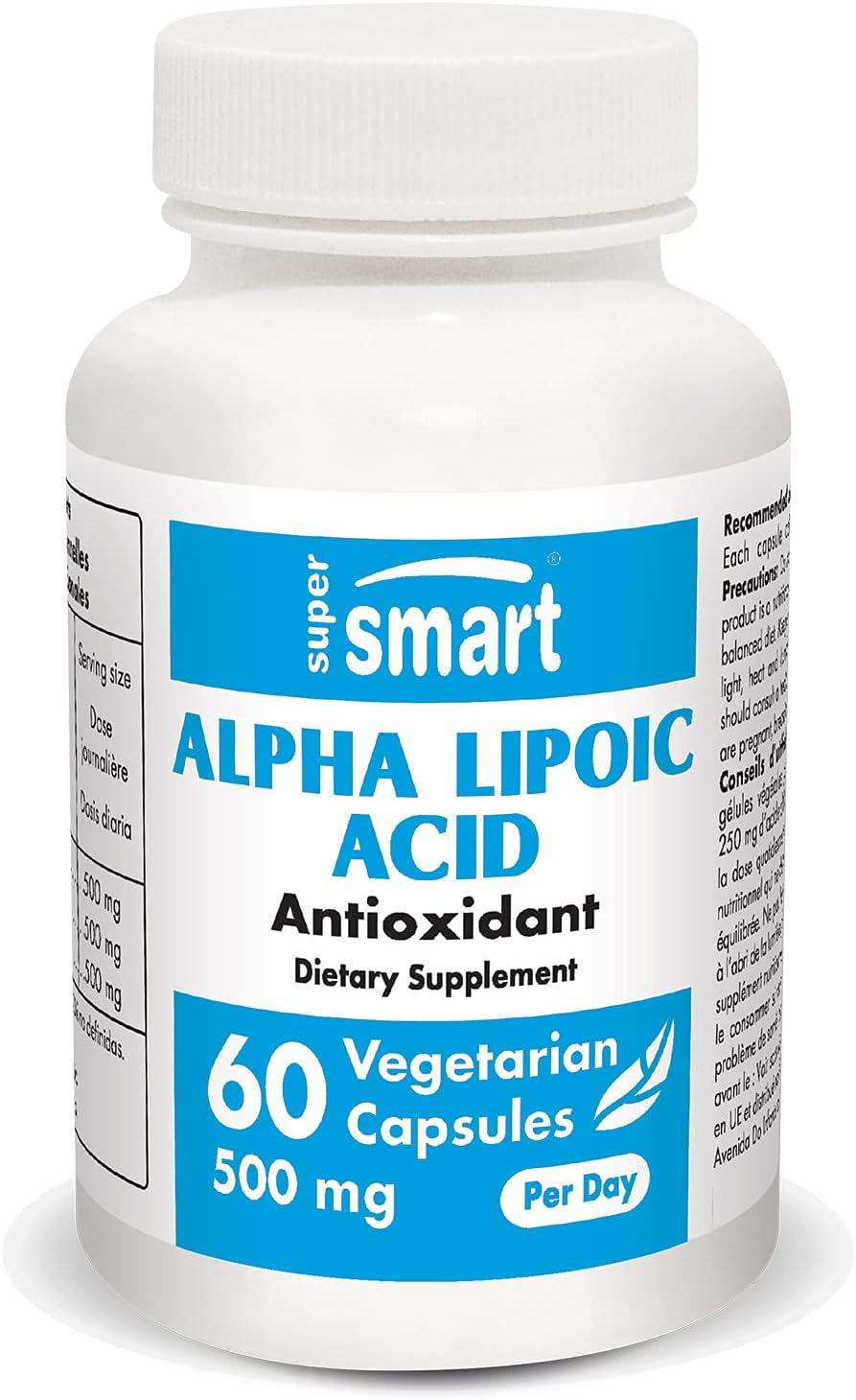 Supersmart - Alpha Lipoic Acid 500 Elegant Day mg Antiox Outlet ☆ Free Shipping Universal Per