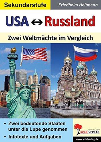 USA vs. Russland: Zwei Weltmächte im Vergleich
