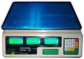 Balança Digital microgadget 40Kg Preço Eletrônica Peso Loja Mercado Led Lcd