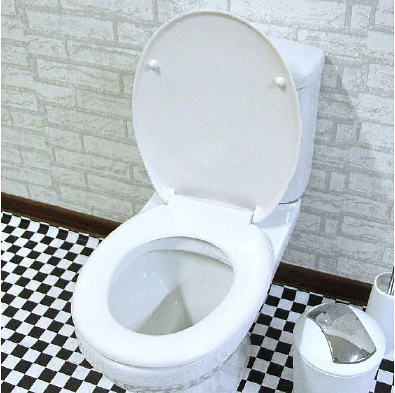 TOILETLIDgg Toilettensitz mit Harnstoff-Formaldehyd verlangsamen antibakteriellen ultraBestendigen Toilettendeckel für O V U-Form kompatibler Toilettensitz Schnellwechsel-Toilettensitz