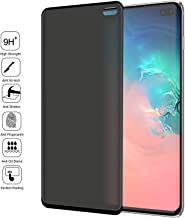 Galaxy S10 5G Privacy Screen Protector, LETANG Tempered Glass Anti Glare/Spy Anti-Scratch No Bubble 9H Hardness 3D Touch Compatible with Samsung Galaxy S10 5G (Black)